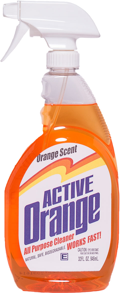 Active Orange Cleaner, Engleside, Cleaner, Grease, Soap Film, Oven Hood, Grills
