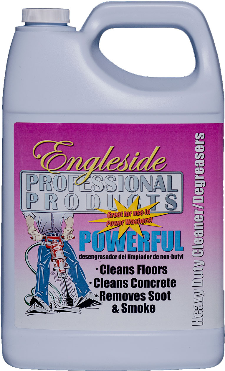 Powerful, Engleside, Heavy Duty Cleaner, Degreaser, Concrete, Soot, Smoke, Cleaner