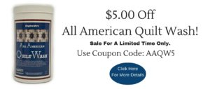 All American Quilt Wash, Engleside, Quilt