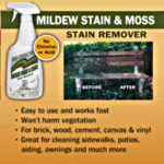 Mildew Stain, Moss Stain, Engleside, Stain Remover