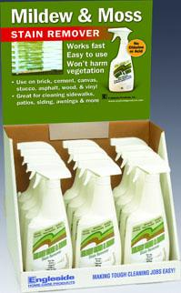 Picture Mildew Stain & Moss Stain Remover