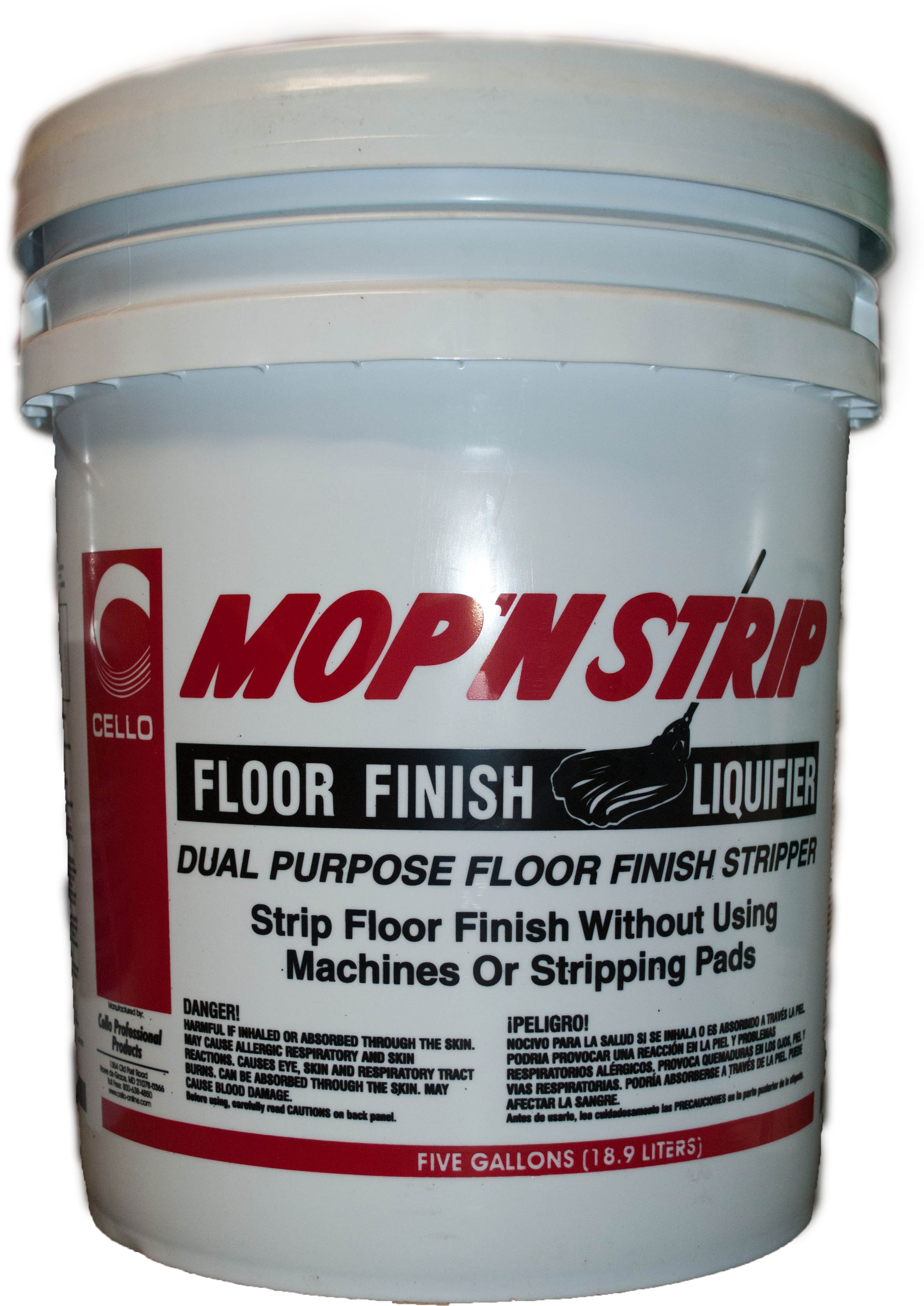 Mop'n Strip 5 Gallon