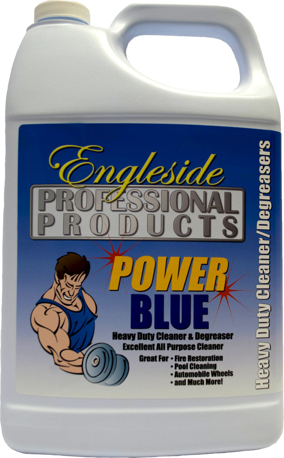 Power Blue, Engleside, Heavy Duty Cleaner, Degreaser, Cleaner, Garage Cleaner